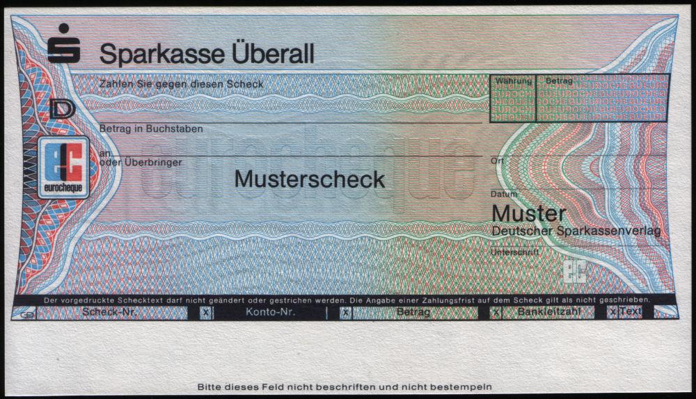 Musterschecks